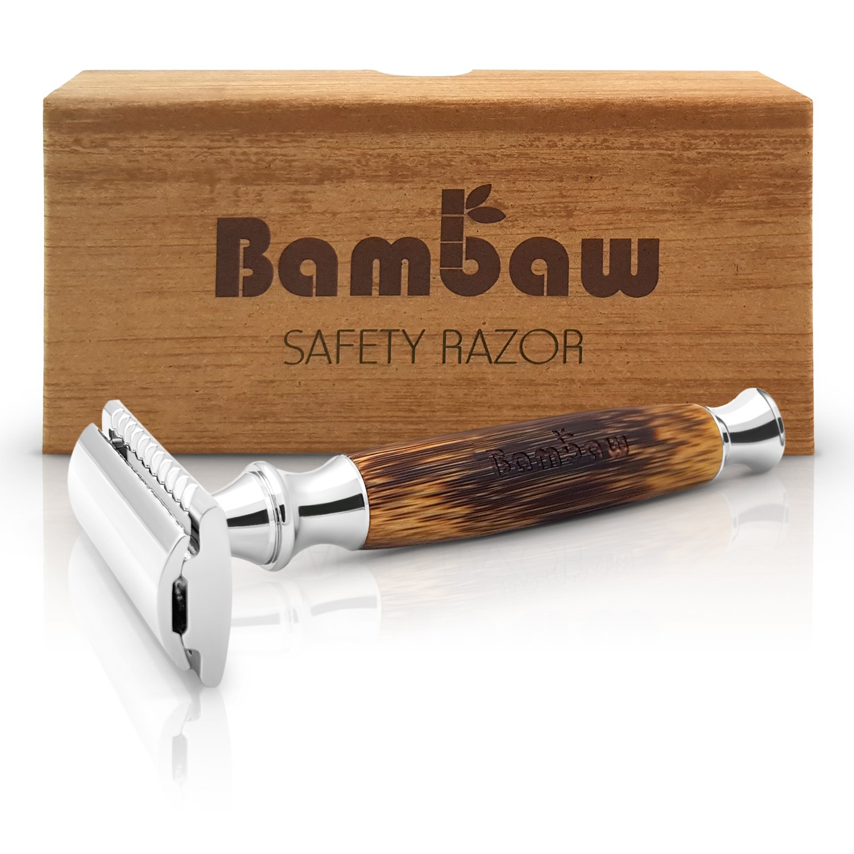 Rasoio da Barba Vintage in Bamboo Bambaw